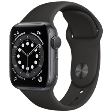 ĐH Apple Watch Series 6 GPS+Cellular, 40mm Space Gray Aluminium Case With Black Sport Band - TBH - 122 Thái Hà - TBH