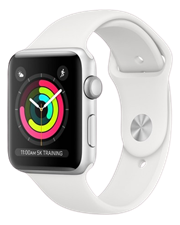 Apple Watch Series 3 GPS 38mm Silver Aluminum Case with White Sport Band (VN/A)  - TBH - 122 Thái Hà