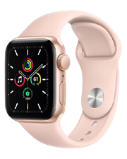 Apple Watch SE GPS, 40mm Gold Aluminum Case with Sport Band (VN/A) - TBH - 122 Thái Hà