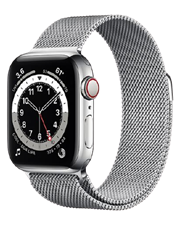 ĐH Apple Watch Series 6 GPS+Cellular, 40mm Silver Stainless Steel Case With Silver Milanese Loop - TBH - 122 Thái Hà