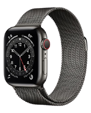 ĐH Apple Watch Series 6 GPS+Cellular, 44mm Graphite Stainless Steel Case with Graphite Milanese Loop - TBH - 122 Thái Hà